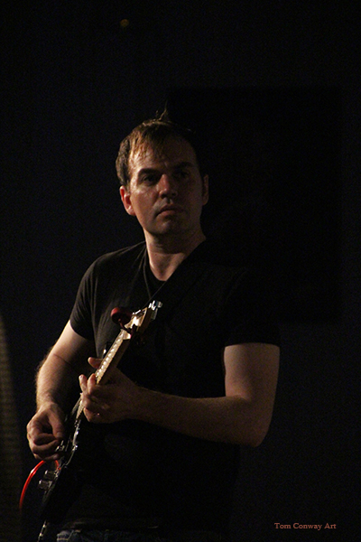 Guitarist Matt Chandler  by Tom Conway