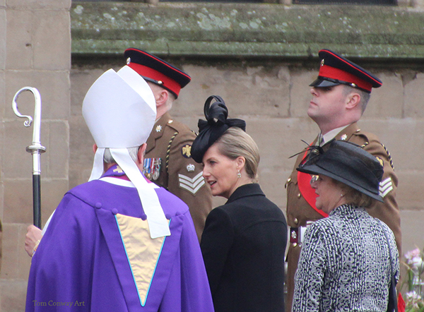 Sophie Countess of Wessex at King Richard III ceremony by Tom Conway