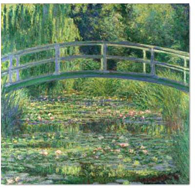 The water lily pond by Claude Monet02