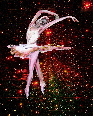 cosmic dancer created using original artwork of the ballerina, photography, and digital effects.