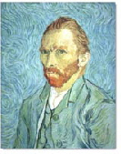 portrait painting of Vincent Van Gogh
