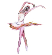 ballerina, dance painting