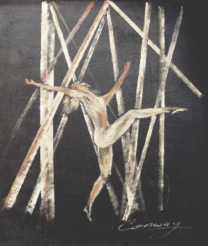 gymnastic dance artwork
