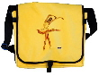messenger bag  dance art -  ballerina print