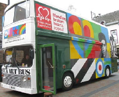 peter blake art bus