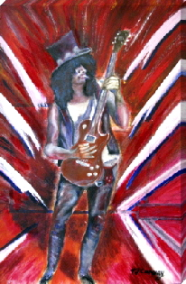 slash canvas print from Easyart