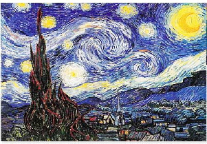 starry night  vincent van gogh02