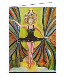 black tutu art deco card02