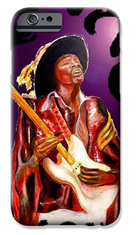 hendrix painting  phone case