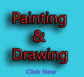 painting and drawing logo