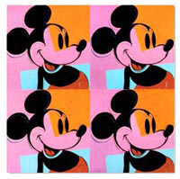 pop art mickey mouse Andy warhol08