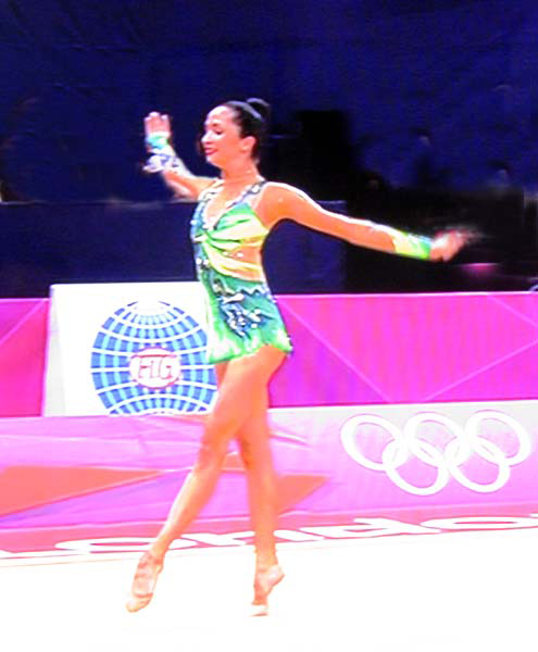 rhythmic gymnast photograph 102