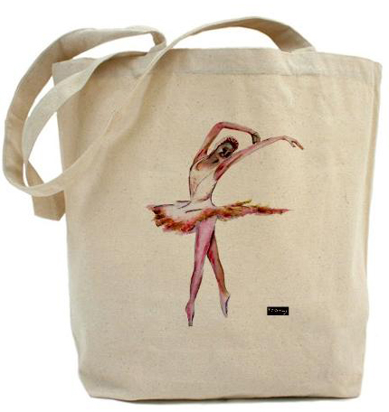 tote bag  dance art design TJ Conway